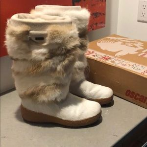 Oscar Sport fur boots